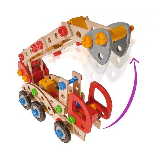 Дървен конструктор пожарна Eichhorn