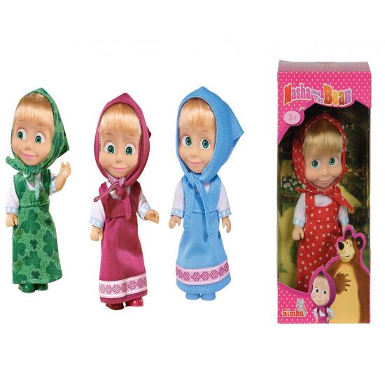 Маша И Мечока - Маша с различни облекла