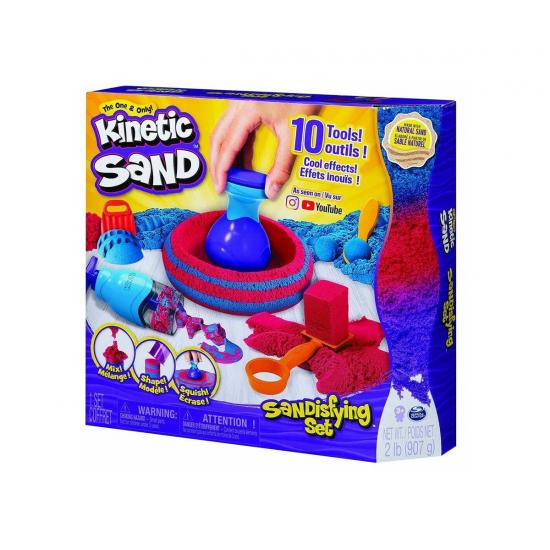 Kinetic Sand - Комплект с мега аксесоари
