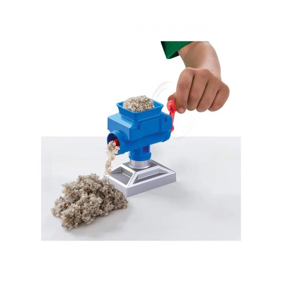 Kinetic Sand - Комплект пясък със строителна машина
