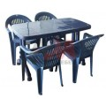 Пластмасови маси и столове