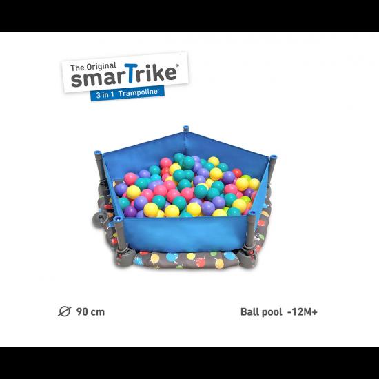 Трамплин 3-в-1 smarTrike, 90 см